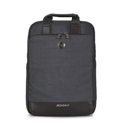 Balo laptop Mikkor The Willis Backpack Graphite