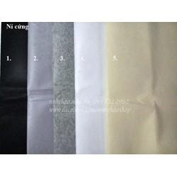 Combo 5 tấm vải nỉ cứng khổ 45x45cm