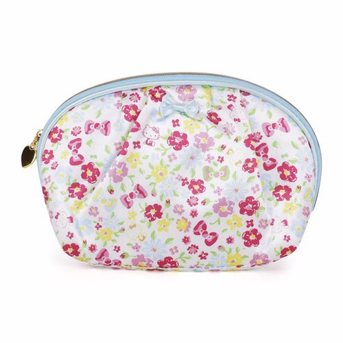 KT Shell Shaped Pouch Flower