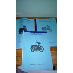 sách hướng dẫn sửa xe máy