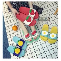 Dép hoa quả cho bạn gái đón hè