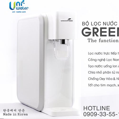 Máy lọc nước uống Alkaline Hydrogen - Green Bio - Korea - 5569338 , 9383409 , 15_9383409 , 5500000 , May-loc-nuoc-uong-Alkaline-Hydrogen-Green-Bio-Korea-15_9383409 , sendo.vn , Máy lọc nước uống Alkaline Hydrogen - Green Bio - Korea
