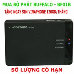 Bộ Phát Wifi 3G 4G LTE - BUFFALO TẶNG SIM VINA 120GB