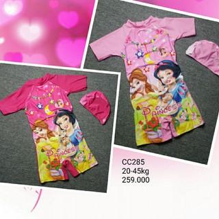 Đồ bơi công chúa cho bé gái size đại - CC285 thumbnail