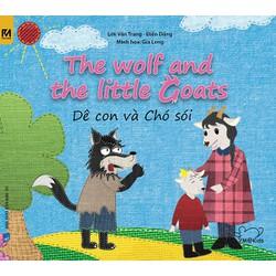 Sách song ngữ Việt Anh - Dê con và chó sói