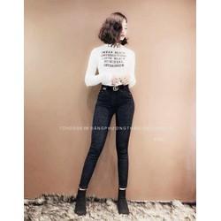 quần jean trơn cao cấp nhiều màu