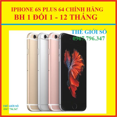 IPHONE 6S PLUS 64GB CHÍNH HÃNG ZIN ĐÉT