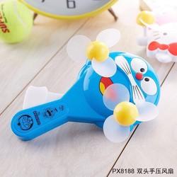 Quạt bóp tay 2 cánh dễ thương Doraemon