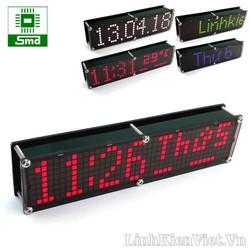 Đồng hồ LED Matrix 8x40 V2 - Đỏ