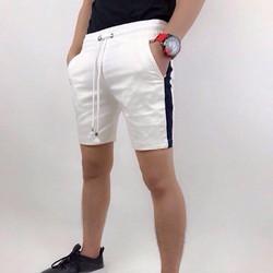 Quần short kaki lưng thu