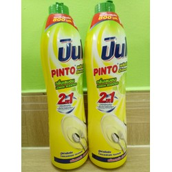 Nước rửa chén PINTO 800ML Hương Chanh