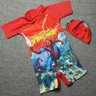 Đồ bơi spider man nhện bé trai - cc292 thumbnail
