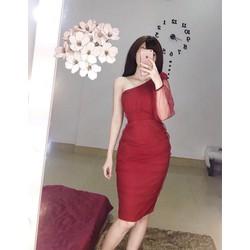 Đầm Body Ôm Lệch Vai - MỪNG KHAI TRƯƠNG KHÁCH LẺ MUA GIÁ SỈ