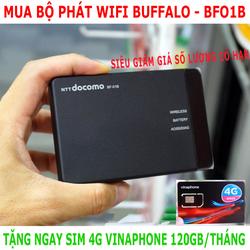 [RẺ VÔ ĐỊCH] BỘ PHÁT WIFI 3G 4G BUFFALO - TẶNG SIM VINA120GB