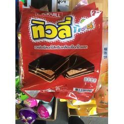Bánh Xốp tivoli vị socola túi 24 gói