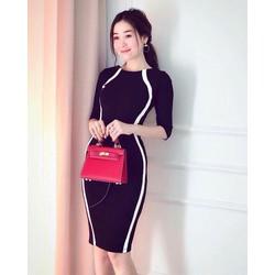 Đầm ôm body thanh lịch - Hàng Quảng Châu