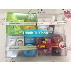 Bộ sản phẩm trị mụn, nám, tàn nhang và trắng da Thái Lan