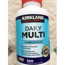 Daily Multi Kirkland Vitamin tổng hợp 500 viên của Mỹ