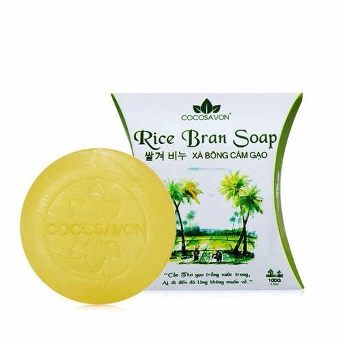 Xà bông cám gạo organic Cocosavon 100g