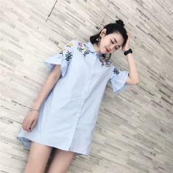Đầm Suông Tay Bèo Thời Trang MWAY