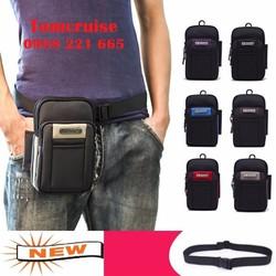 Túi đeo bụng nam đeo chéo Túi đeo thắt lưng đựng điện thoại chống sốc