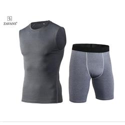 Bộ quần áo ba lỗ tập gym nam cao cấp LA FASHION 1002