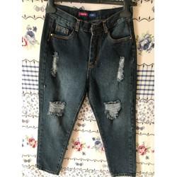 Quần Bagy jeans nữ size 26