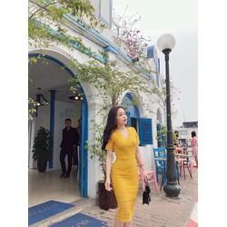 Đầm ren công sở hàng Quảng châu siêu đẹp