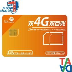 Sim 3G-4G đi du lịch Trung Quốc