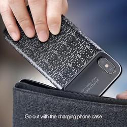 ỐP LƯNG TÍCH HỢP PIN SẠC DỰ PHÒNG BASEUS 3650MAH CHO IPHONE X,8,8 +