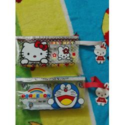 Hộp đựng bút Hello Kitty-Doraemon
