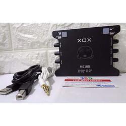 Sound card KS108 cao cấp giá rẻ tại Hà Nội