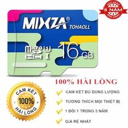 Thẻ Nhớ Micro SD MIXZA 16GB Class 10 Tốc độ đọc 80MB BH 60 tháng