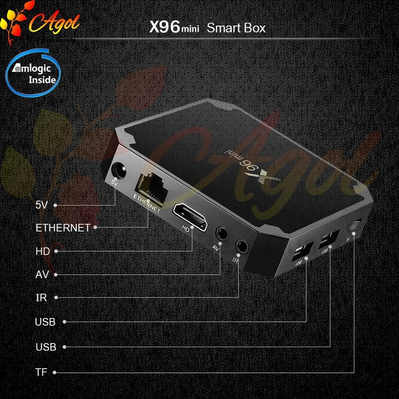 Android tivi box X96 mini 2g Ram 16G Rom 3
