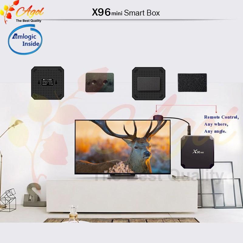 Android tivi box X96 mini 2g Ram 16G Rom 17