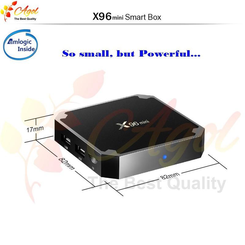 Android tivi box X96 mini 2g Ram 16G Rom 1