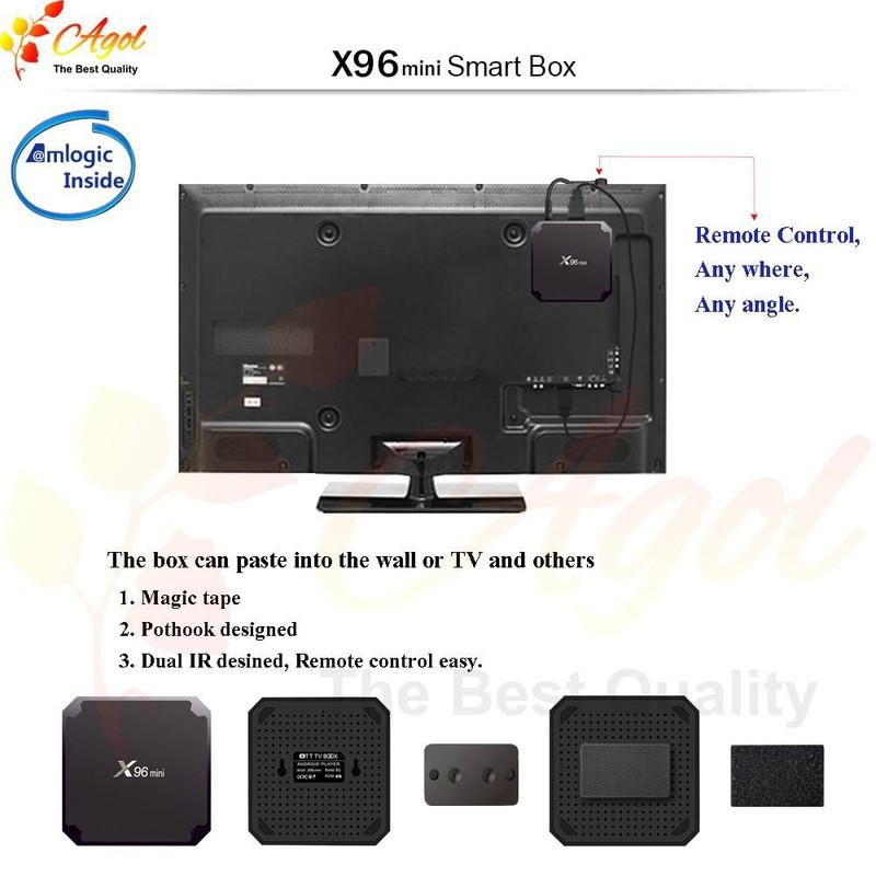 Android tivi box X96 mini 2g Ram 16G Rom 19
