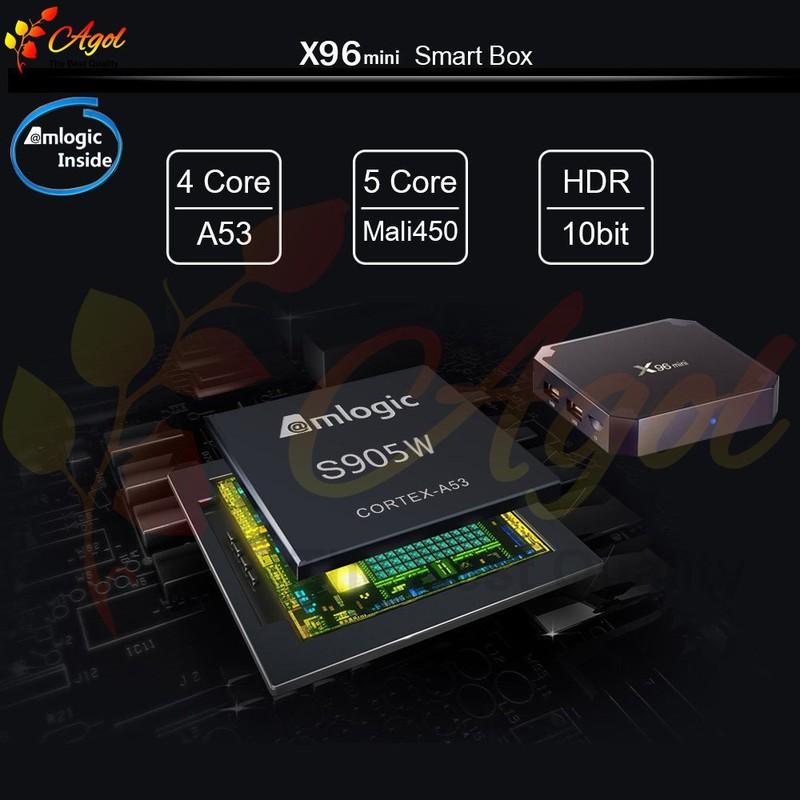 Android tivi box X96 mini 2g Ram 16G Rom 15