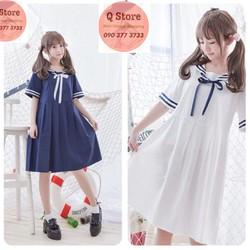 Đầm Babydoll thủy thủ