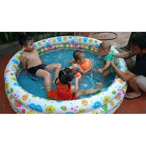 Bể bơi 3 tầng cho bé