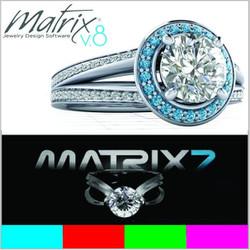 Bộ DVD GEMVISION MATRIX 8_7_6 _ Phần mềm thiết kế nữ trang