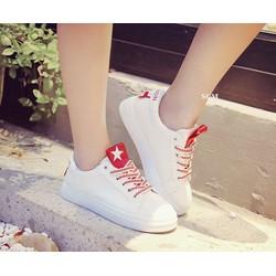 Giày thể thao ngôi sao dây màu | giày bata nữ