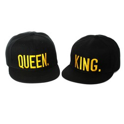 Nón HIP HOP KING . QUEEN
