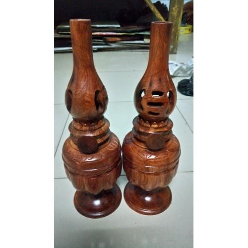 Cặp đèn thờ gỗ Hương - 5589637 , 9428015 , 15_9428015 , 885000 , Cap-den-tho-go-Huong-15_9428015 , sendo.vn , Cặp đèn thờ gỗ Hương
