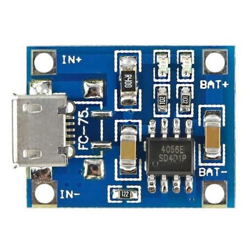 Combo 3 Mạch sạc pin 18650  lithium-ion TP4056 1A micro USB - 5594715 , 9436982 , 15_9436982 , 30000 , Combo-3-Mach-sac-pin-18650-lithium-ion-TP4056-1A-micro-USB-15_9436982 , sendo.vn , Combo 3 Mạch sạc pin 18650  lithium-ion TP4056 1A micro USB