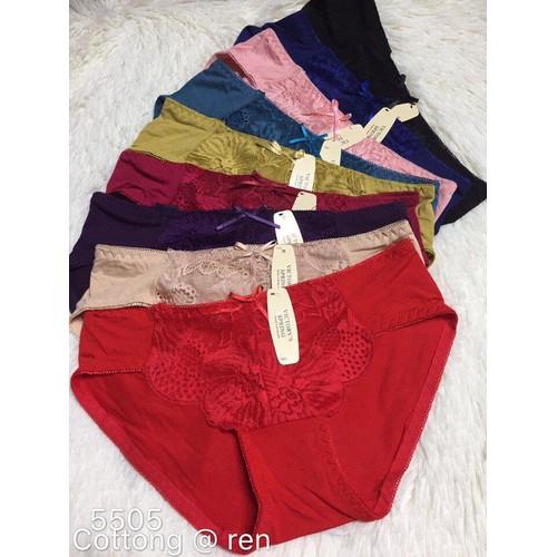 CHUYÊN SỈ: 10 quần lót nữ cotton pha ren cao cấp chất đẹp - 10608572 , 9434639 , 15_9434639 , 195000 , CHUYEN-SI-10-quan-lot-nu-cotton-pha-ren-cao-cap-chat-dep-15_9434639 , sendo.vn , CHUYÊN SỈ: 10 quần lót nữ cotton pha ren cao cấp chất đẹp
