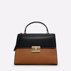 Túi xách nữ Charles and keith C210 push lock chain shoulder bag