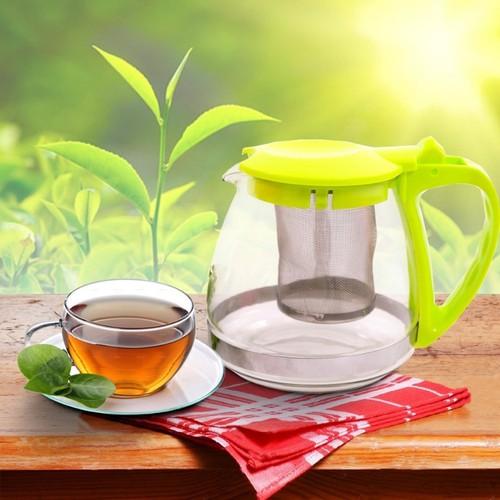 Bình lọc trà thủy tinh 700ml - 5590681 , 9430364 , 15_9430364 , 55000 , Binh-loc-tra-thuy-tinh-700ml-15_9430364 , sendo.vn , Bình lọc trà thủy tinh 700ml