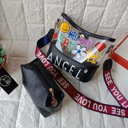 Túi đeo ngọc trinh nhựa thời trang