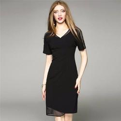 Đầm ôm phối lưới sang trọng thời trang đa phong cách